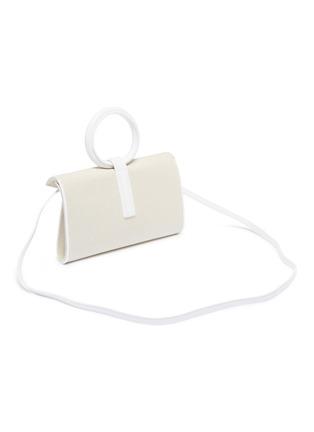 Detail View - Click To Enlarge - COMPLÉT - 'Valery' mini linen envelope clutch