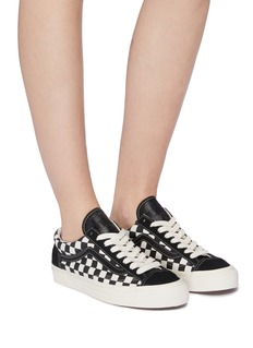 Vans 'Style 36 LX' checkerboard canvas sneakers