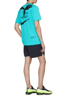 NikeLab x Off-White™ A6' trompe-l'œil logo graphic print T-shirt