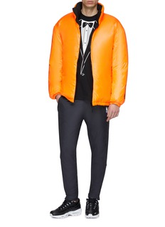 NikeLab Contrast collar down puffer jacket