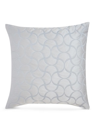 Main View - Click To Enlarge - FRETTE - Tile cushion cover – Light Blue