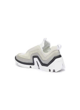 - PIERRE HARDY - 'Vibe' wavy panel chunky leather sneakers