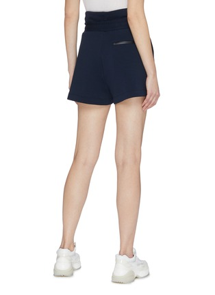 Back View - Click To Enlarge - FILA X 3.1 PHILLIP LIM - Belted paperbag shorts