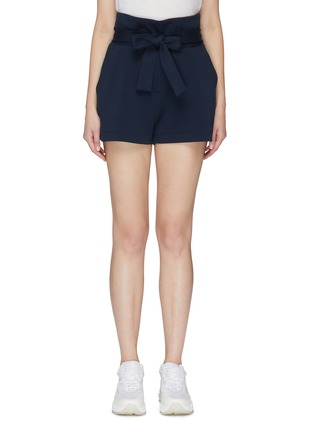 Main View - Click To Enlarge - FILA X 3.1 PHILLIP LIM - Belted paperbag shorts