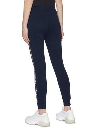 Back View - Click To Enlarge - FILA X 3.1 PHILLIP LIM - Logo stripe outseam sweatpants