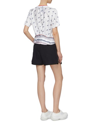 Figure View - Click To Enlarge - FILA X 3.1 PHILLIP LIM - Logo print peplum back T-shirt