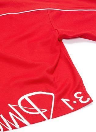 - FILA X 3.1 PHILLIP LIM - Logo print cropped T-shirt