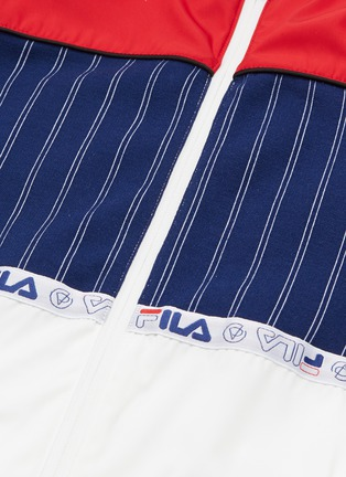 - FILA X 3.1 PHILLIP LIM - Mix logo drawstring colourblock jacket