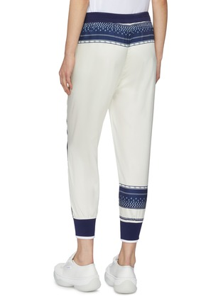 Back View - Click To Enlarge - FILA X 3.1 PHILLIP LIM - Logo print track pants