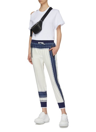 Figure View - Click To Enlarge - FILA X 3.1 PHILLIP LIM - Logo print track pants