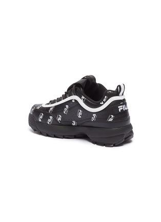 - FILA X 3.1 PHILLIP LIM - 'Disruptor II' logo print leather chunky sneakers