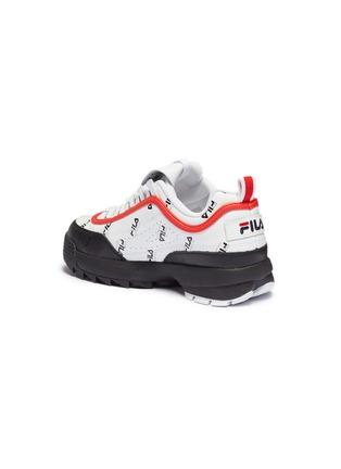 - FILA X 3.1 PHILLIP LIM - 'Disruptor II' logo print colourblock leather chunky sneakers