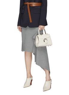 Delvaux 'Brillant Mini Metal Glam' leather satchel