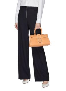 Delvaux 'Brillant East West Rodéo Surpiqué' contrast topstitching leather satchel