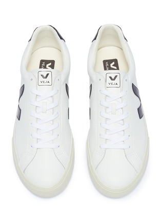 Detail View - Click To Enlarge - VEJA - 'Esplar' leather sneakers