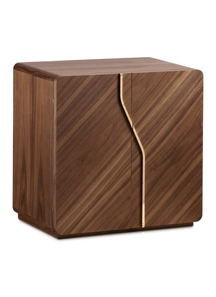 Main View - Click To Enlarge - AGRESTI - Walnut Matte Jewellery Chest – Acro