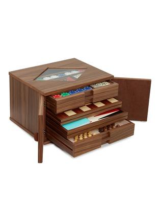 - AGRESTI - Walnut multi game box