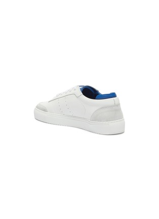 - AXEL ARIGATO - 'Dunk' contrast collar leather sneakers
