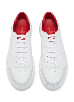 Detail View - Click To Enlarge - AXEL ARIGATO - 'Dunk' contrast collar leather sneakers