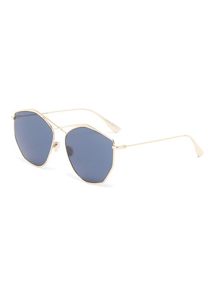 Main View - Click To Enlarge - DIOR - 'Dior Stellaire 4' metal oversized geometric frame sunglasses