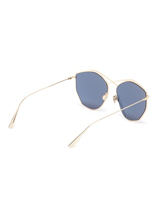 Figure View - Click To Enlarge - DIOR - 'Dior Stellaire 4' metal oversized geometric frame sunglasses