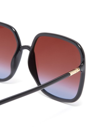 Detail View - Click To Enlarge - DIOR - 'Dior So Stellaire 1' acetate square sunglasses