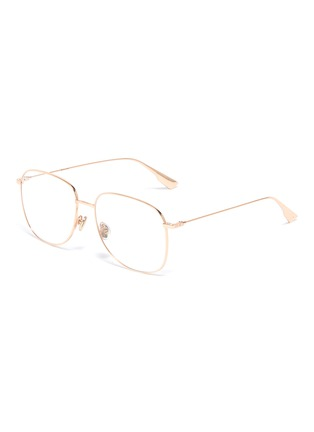Main View - Click To Enlarge - DIOR - 'Dior Stellaire O8' square optical glasses
