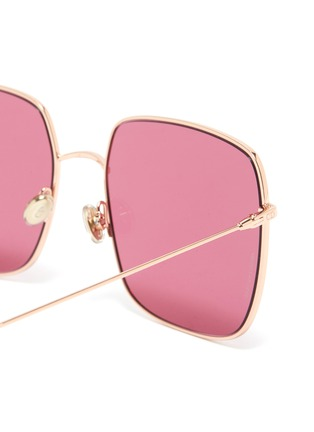 Detail View - Click To Enlarge - DIOR - 'Dior Stellaire' metal oversized square sunglasses