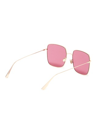 Figure View - Click To Enlarge - DIOR - 'Dior Stellaire' metal oversized square sunglasses