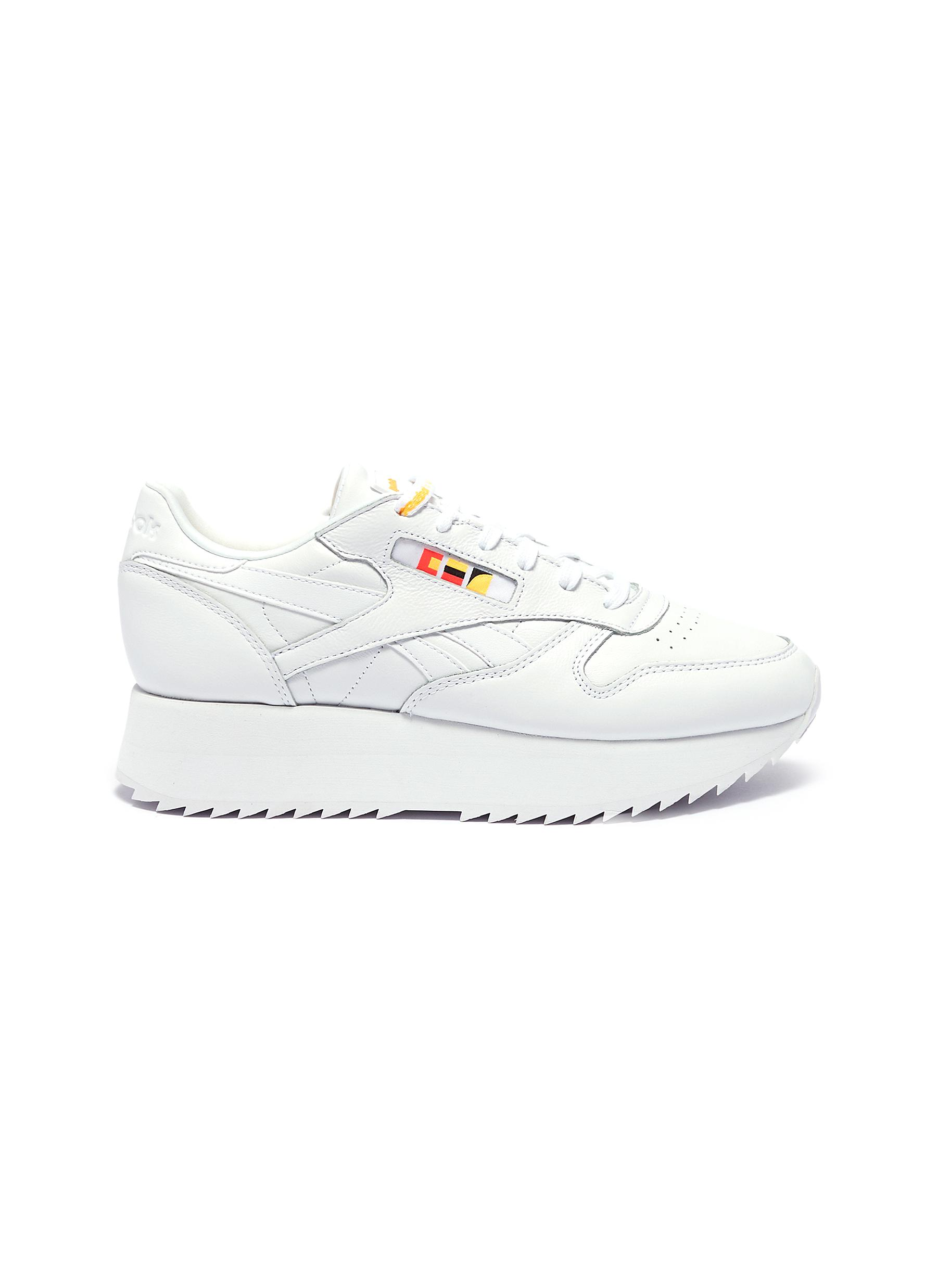 dafd192d03ab6 Reebok. x Gigi Hadid  Classic Leather Double  platform sneakers