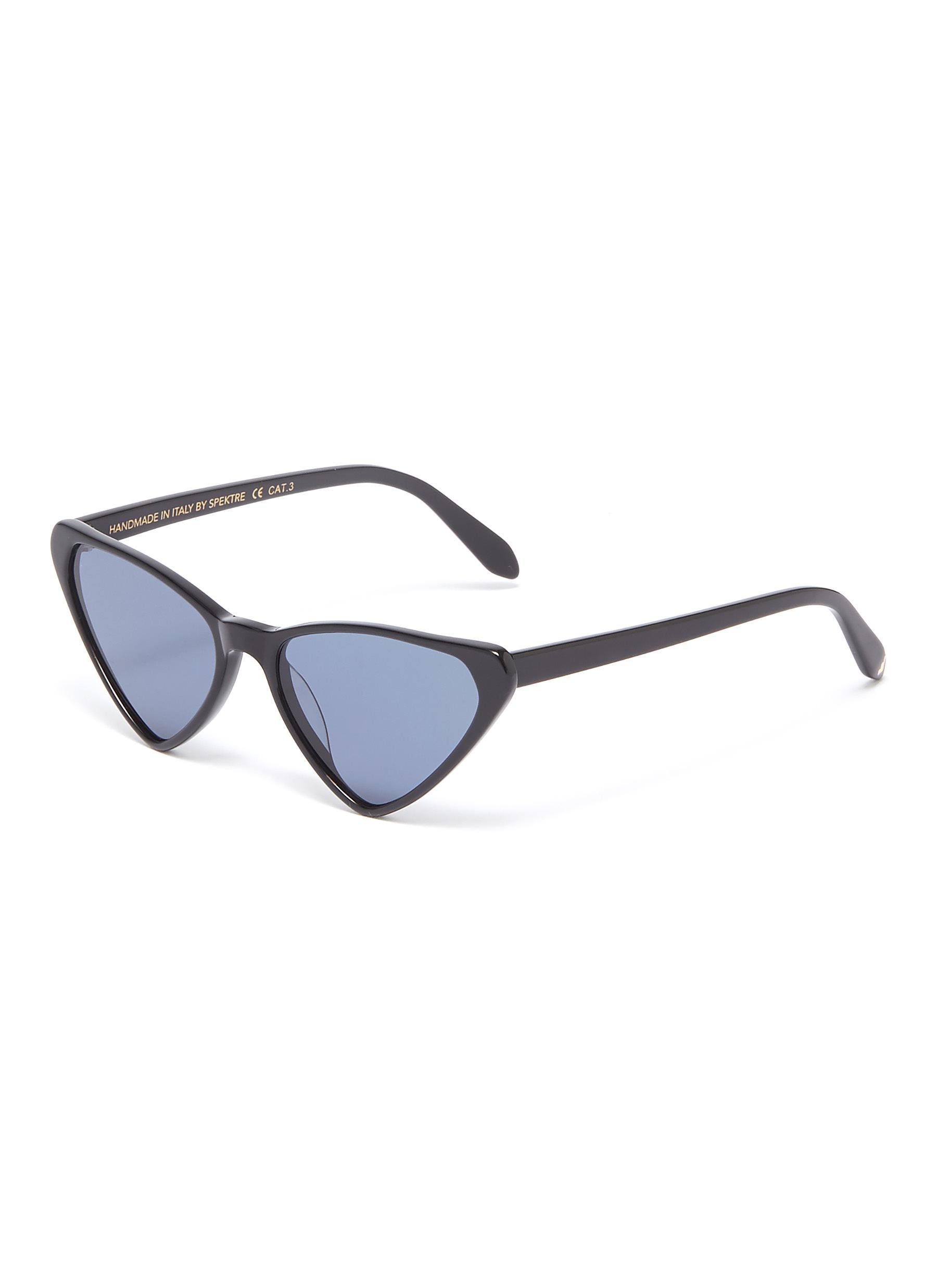 ed3177c4d8bef9 Main View - Click To Enlarge - Spektre -  Frida  acetate triangular frame  sunglasses