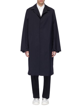 f20363ce0 Jil Sander Notched lapel wool-mohair coat