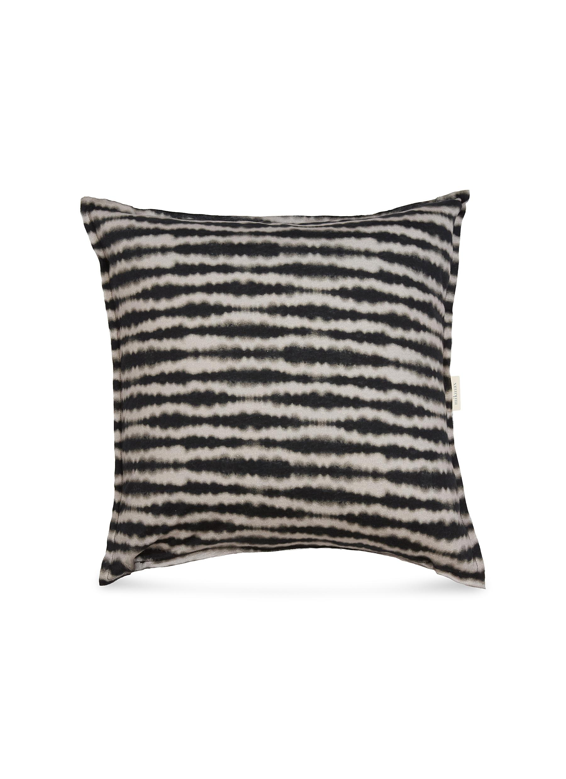 4d9624fbb752 Main View - Click To Enlarge - MIKMAX - Tie-dye stripe cotton jersey cushion