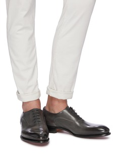 Santoni Leather Oxfords
