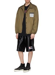alexanderwang Mix appliqué shorts