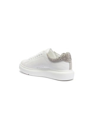 - PEDDER RED - 'Louie' strass collar leather platform sneakers