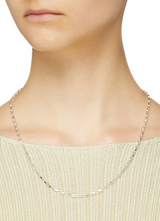 númbering Chain link necklace