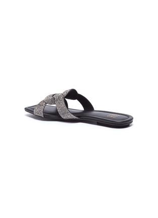 - PEDDER RED - 'Cameron' strass loop slide sandals