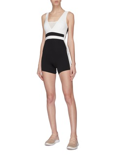 Vaara 'Romy' colourblock sleeveless performance bodysuit