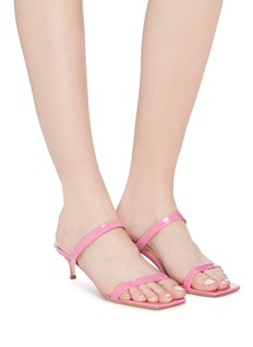 BY FAR 'Thalia' patent leather sandals