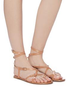 Gianvito Rossi 'Cassandra' strappy leather sandals