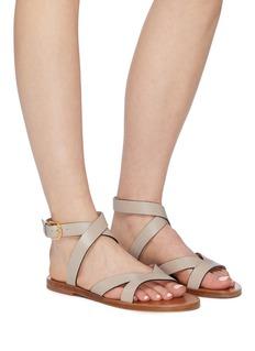 Stuart Weitzman 'Tenley' strappy leather sandals