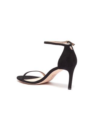 - STUART WEITZMAN - 'Nudist' ankle strap suede sandals