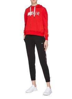 Nike 'Air' logo slogan print hoodie