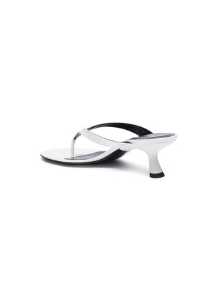 075fd3695 SIMON MILLER -  Beep Thong  leather sandals