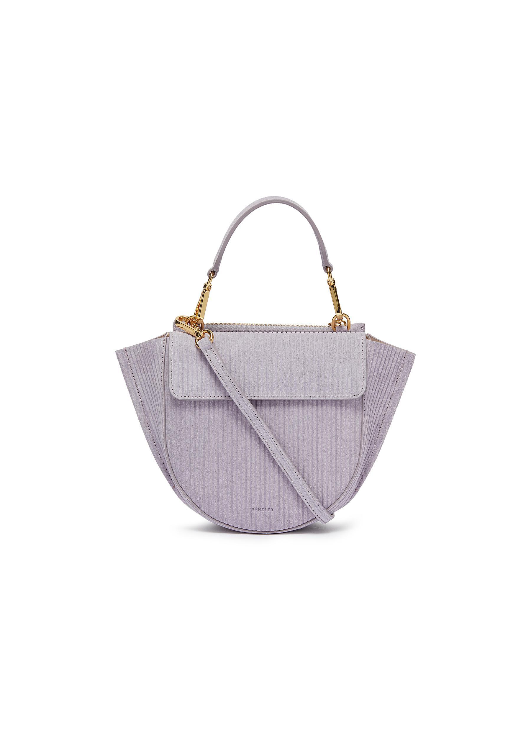 Wandler Shoulder Corduroy Women Mini Bag 'hortensia' Suede PrMwPKqBg