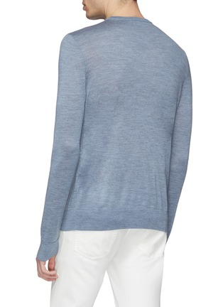 Back View - Click To Enlarge - EQUIL - Wool blend sweater