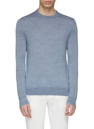 Main View - Click To Enlarge - EQUIL - Wool blend sweater