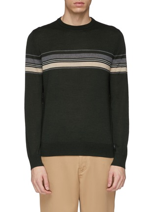 Main View - Click To Enlarge - EQUIL - Stripe wool blend sweater