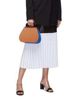 SIMON MILLER 'Blast' colourblock leather top handle bag